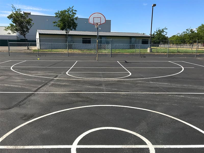Basketball Courts Near You Mountain View Middle School Redding